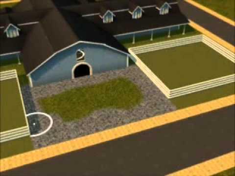 Sims 3 Equestrian Center Speed Build