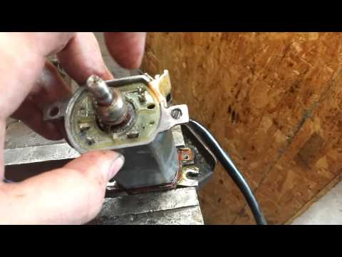 Vanagon Power Window Motor Repair