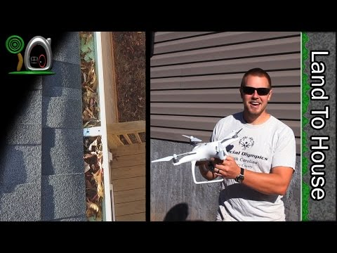 Drone Gutter Cleaning