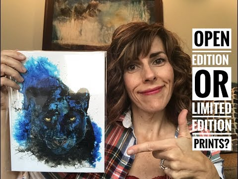 Art print advice: Limited Edition Prints: should you sell them?