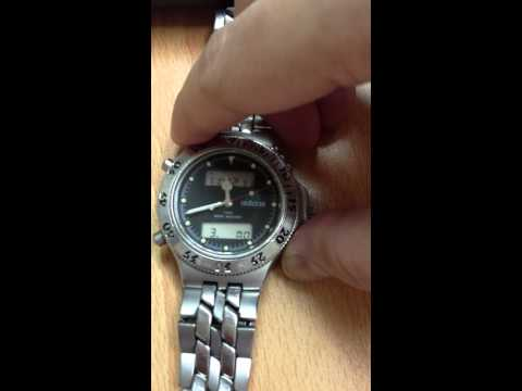 Adidas Equipment Watch Model 10-0037 Date & Time Settings