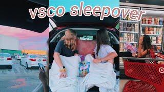 having the ultimate VSCO sleepover