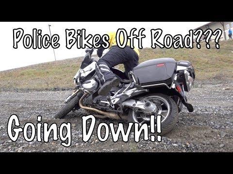 Basic Police Motorcycle School-Final Qualification-Dirt & Trail Riding-Night Riding Spokane, WA-PT3