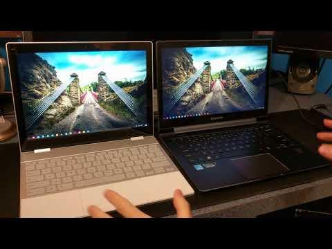 Google Pixelbook vs Premium Windows Ultrabook Running Chrome OS (CloudReady) + Pixelbook Review
