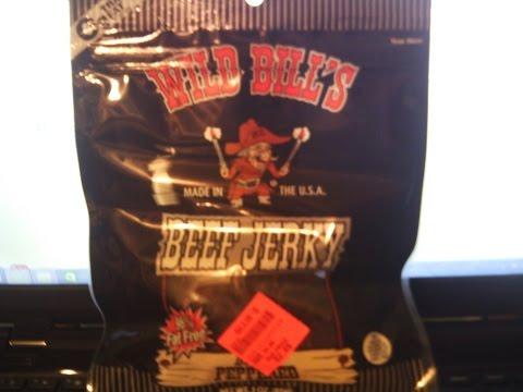 Wild Bills' Black Peppered Beef Jerky