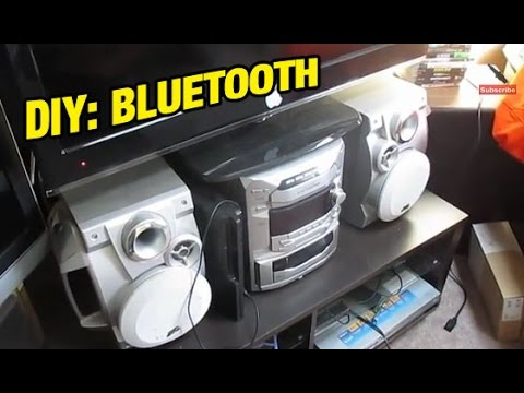 How to add Bluetooth to any home or car stereo