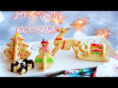 How to Make 3D Winter Wonderland Classic Sugar Cookies