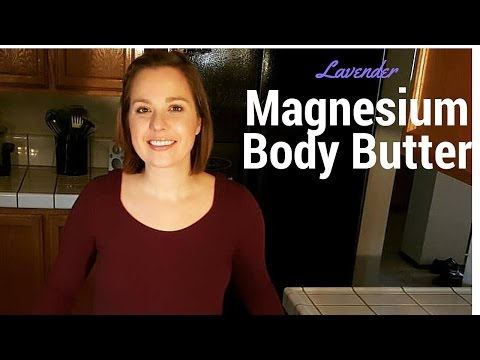 Lavender Magnesium Body Butter