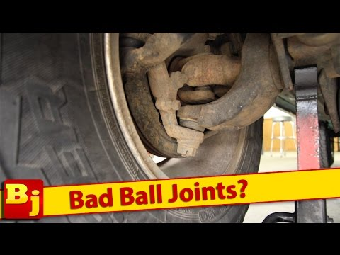 Bad Ball Joints? How to Tell