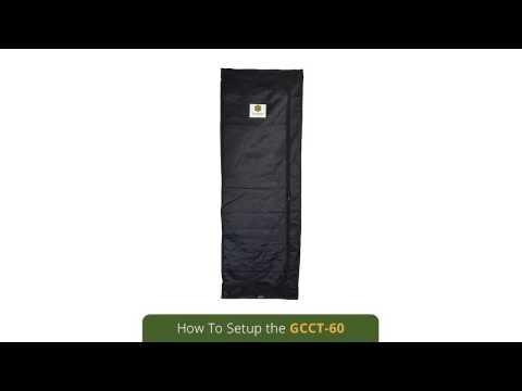 GrowCube Classic Grow Tent 60 - How To Setup