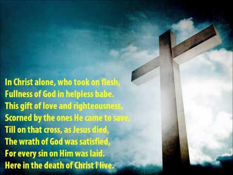 In Christ Alone {with lyrics} - //Keith & Kristyn Getty, Stuart Townend\\