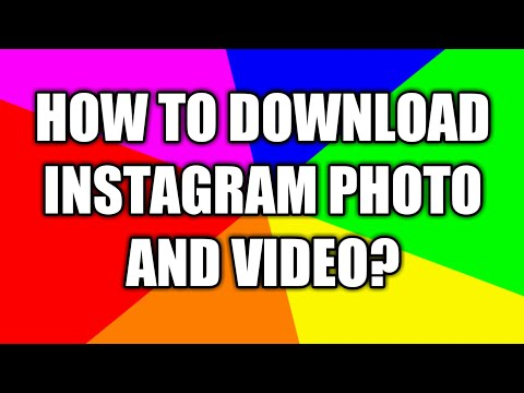 How To Download Instagram Photo and Videos To Gallary