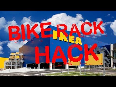 Instructables: Ikea Bike Rack Hack