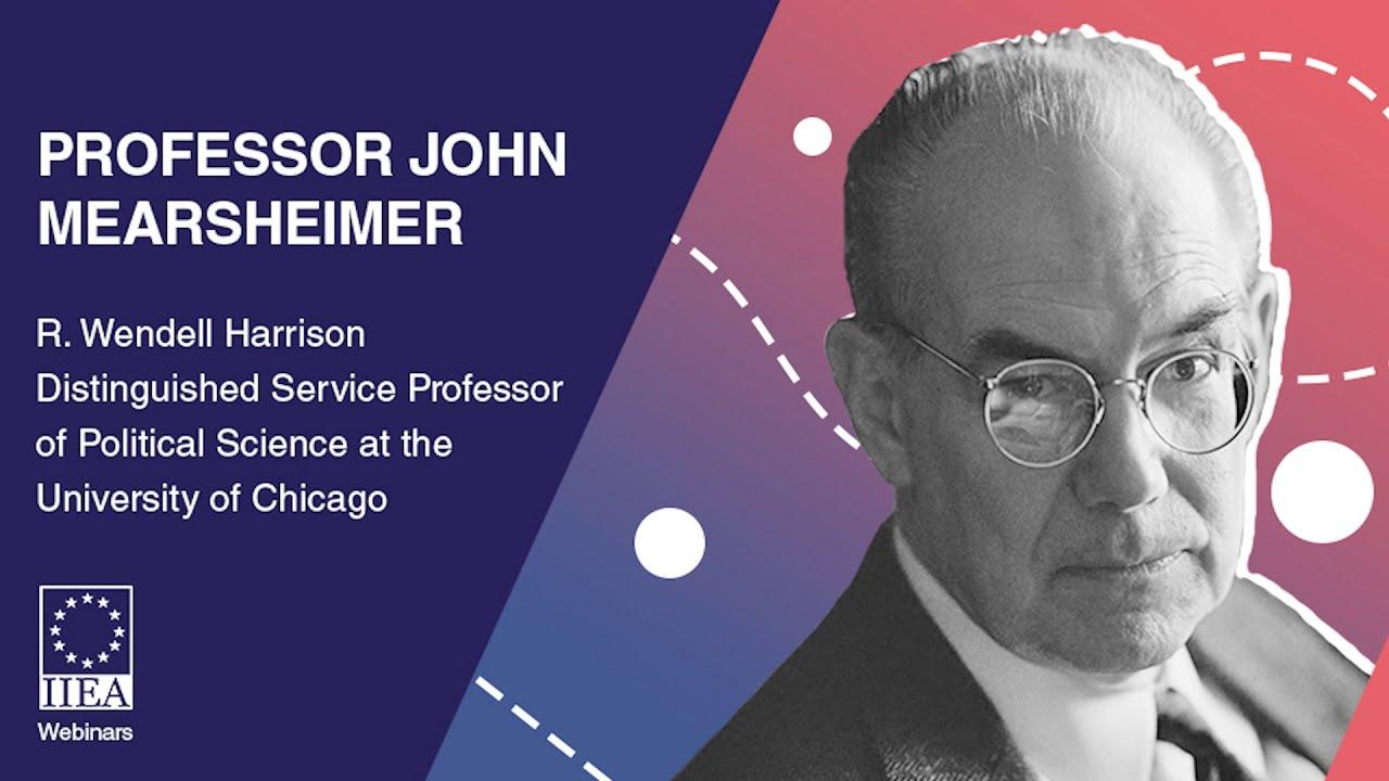 Prof John Mearsheimer - US Foreign Policy under President Biden