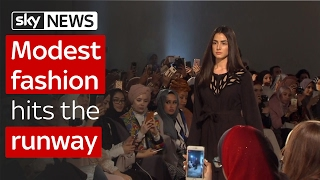 Modest fashion hits the runway