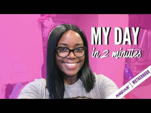 MY DAY IN 2 MINUTES | Working Mom | Day in the life