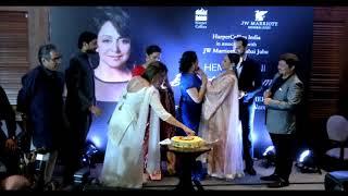 Hema Malini Celebrates Her Birthday With Deepika Padukone At Beyond The Dream Girl Book Launch