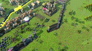 Age of Empires 3 DE - 3v3 INSANE BATTLES   Multiplayer Gameplay