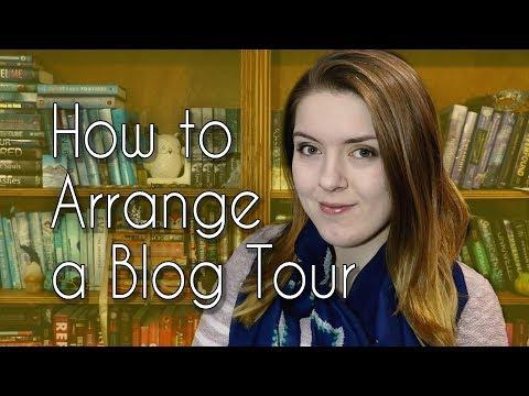 Publishing a Book - How to Arrange a Blog Tour