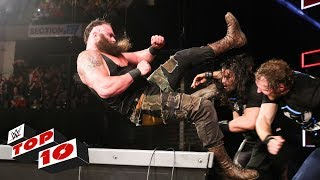 Top 10 Raw moments: WWE Top 10, October 9, 2017