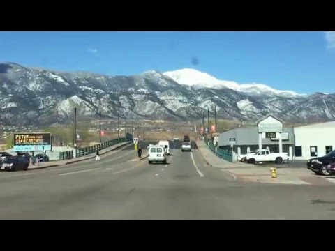 Driving to Amnet - Colorado Springs