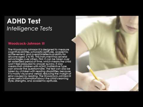 Adhd test - intelligence test