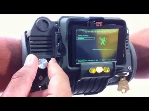 Pip Boy 3000 Working Interactive Demo