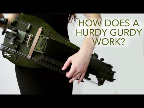 How EXACTLY does the hurdy gurdy work?