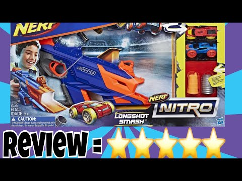 Nerf nitro longshot smash review