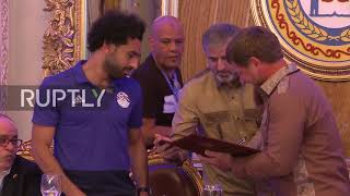 Russia: Liverpool star Salah awarded Chechen citizenship by Kadyrov