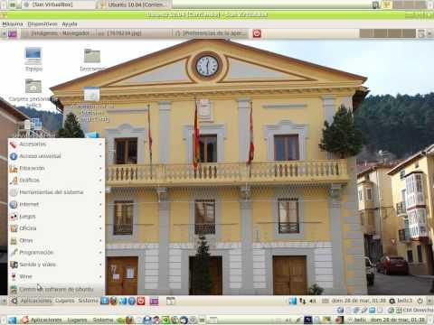 Ubuntu 10.04 con virtualbox Compiz Ubuntu Tweak 1-3