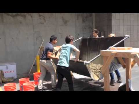 UCSB Human Powered Concrete Mixer