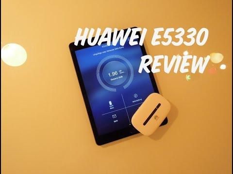 Huawei E5330 Review + Tutorial [Deutsch]