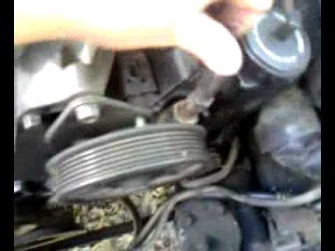 Jeep 4.0 drive belt or jeep serpentine belt instal