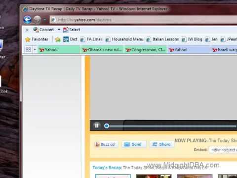 Internet Explorer 8: Colored Tabs