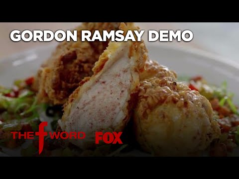 Gordon Ramsay Demonstrates How To Make Buttermilk Fried Chicken | Season 1 Ep. 5 | THE F WORD