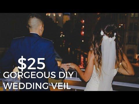 $25 Gorgeous DIY Wedding Veil