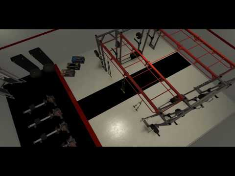 Functional training room design