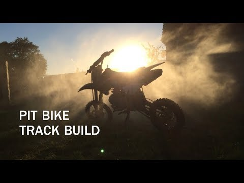 Evolution of a Pit Bike Track with GoPro