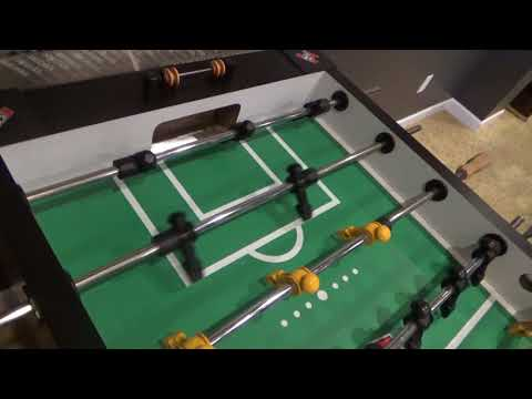 Foosball Rod Cleaning and Bearing Lube