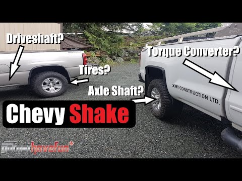 Chevy Shake Possible Solution