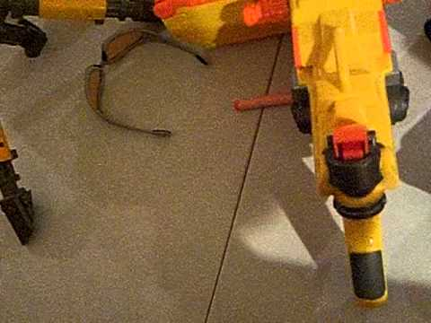 how to make a nerf fort