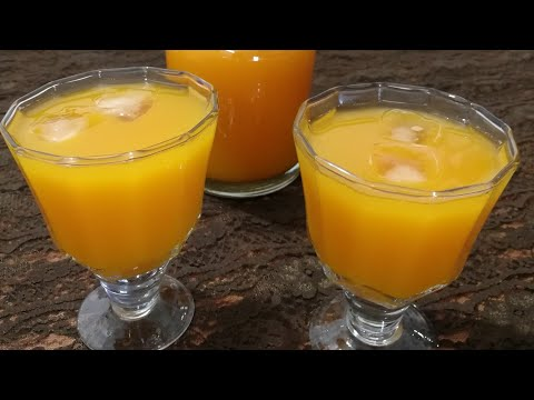 Mango Frooty   Homemade Fruity  Easy 10 Minutes Recipe   Mango Squash - Food Connection