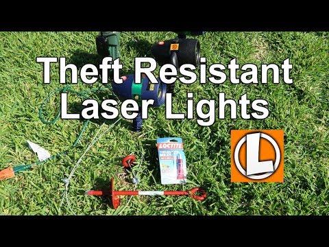 Star Shower Laser Lights and Slide Show Theft Resistant Hack 2017