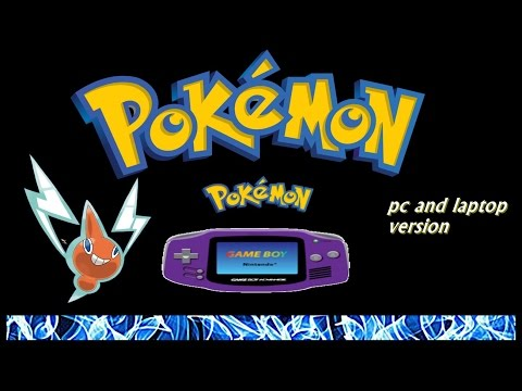How to download all GBA Pokemon games file for Pc