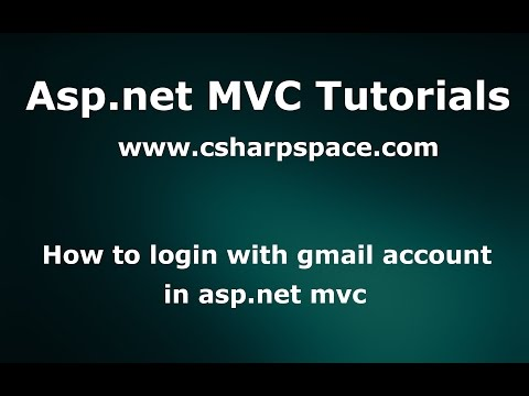 How to login with gmail  in asp.net -  mvc