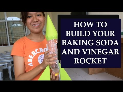 Baking Soda and Vinegar Rocket