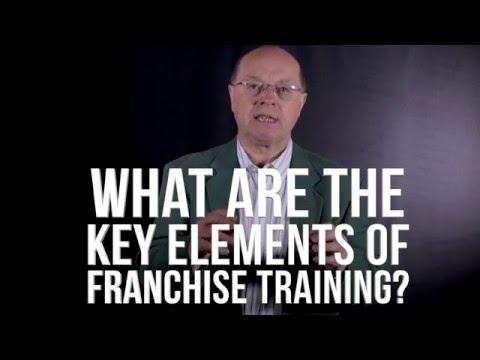The Elements of Franchise Training