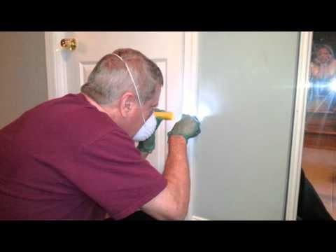 Asbestos test video 9/27/15