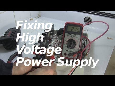 Fixing my High Voltage Power Supply